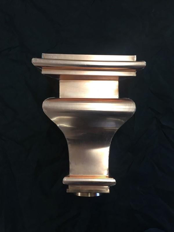Conductor Heads Copperworks Custom Copper Amp Copper