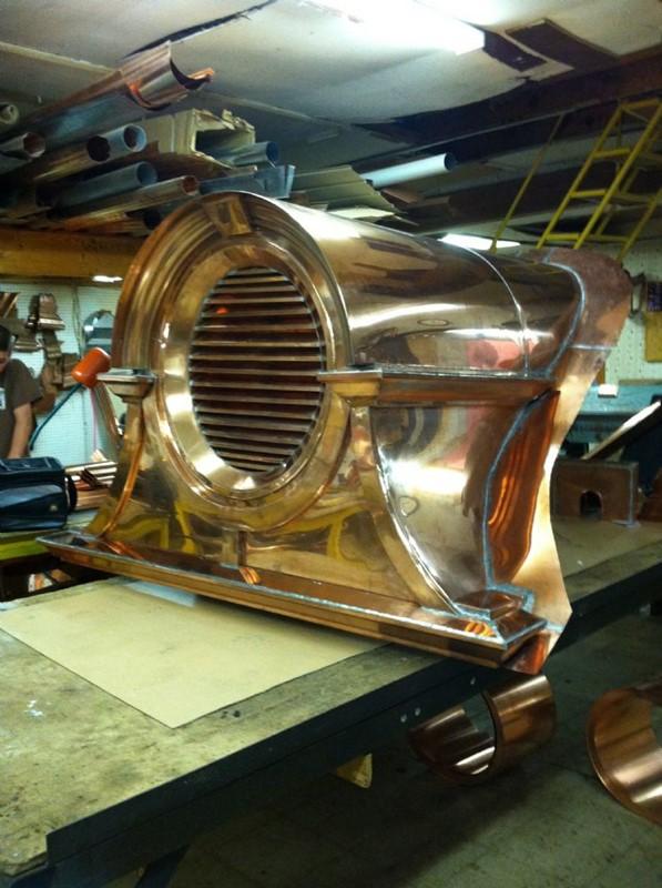 Prefab Dormers Copperworks Custom Copper Amp Copper